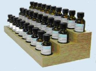 30 One ounce Essential Oil Display great for Aromatherapy